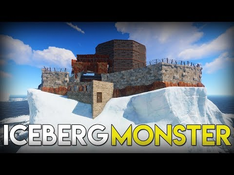 ONLINE RAIDING A MONSTER ICEBERG BASE | RUST