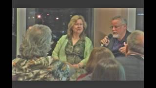 Amy Hill Hearth and Michael Connelly co-host Univ. of Tampa MFA program