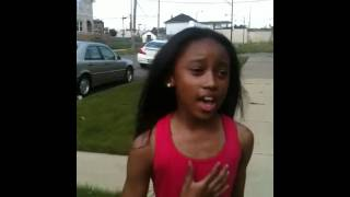 Ashli Singing Love By Keyshia Cole