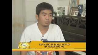 Gloc-9 and andrew e with ben deatha ABS-CBN @ Pinoys keep local rap scene alive