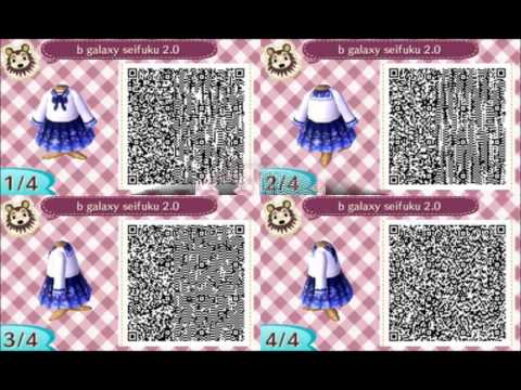 ACCESS YouTube Simple Animal Crossing New Leaf Sewing Machine Qr Codes