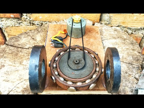 Electrical Engineering Free Energy Generator High Power DC Motor With Flywheel New Creative Idea