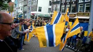 Svenska fans i Amsterdam, Holland-Sverige