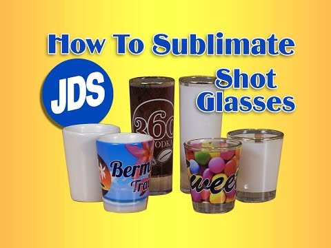 How To Sublimate Shot Glasses