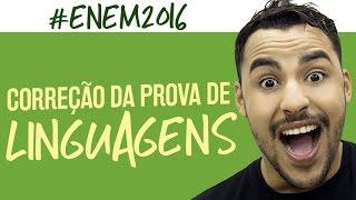 Correção ENEM 2016 - Linguagens - Prof. Romulo Bolivar