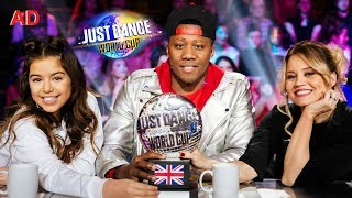 I got to Judge the Just Dance World Cup 2018 | Sophia Grace