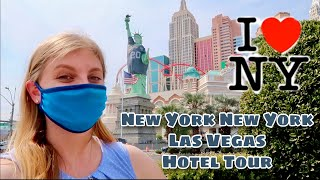 New York New York Hotel & Casino in Vegas Walkthrough | Big Apple Arcade & Suite Room Tour
