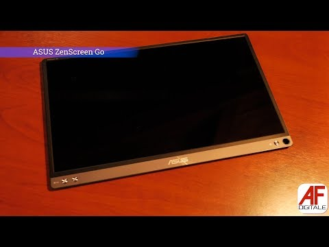 Asus ZenScreen Go: il monitor Full HD portatile