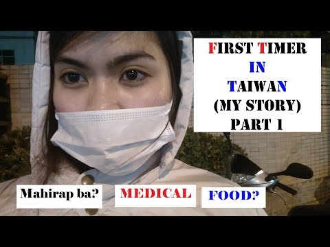 First timer in Taiwan Struggles(PART 1)-Factory worker in Taiwan Vlog