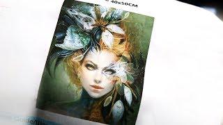 Diamond Painting Deutsch Sophie Beauty Aliexpress Unboxing, Review und Tipps lange Version