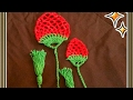 How to make a crochet rose bud bookmark