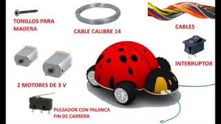 Tecno No.1 - Construir un robot escarabajo chocón