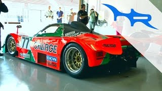 Mazda 767B Pure & Amazing Rotary Engine Sound at Spa Classic 2014