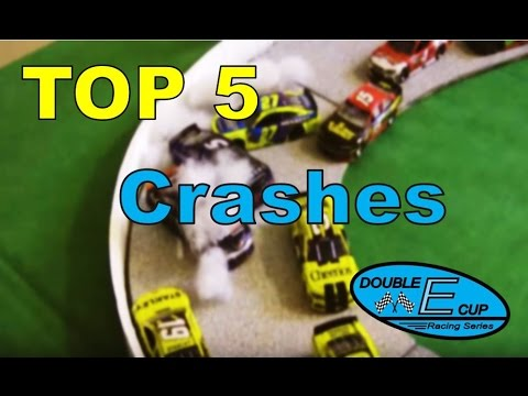 Top 5 Crashes in the Double E Cup Series