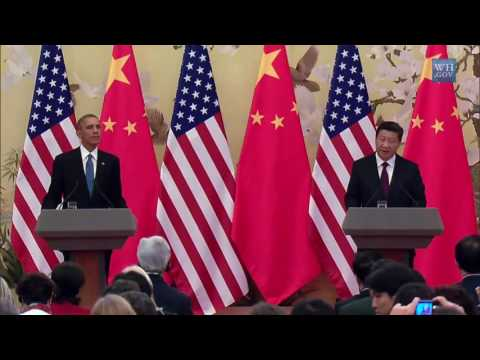 President Obama and President Xi Jinping in Joint Press Conference