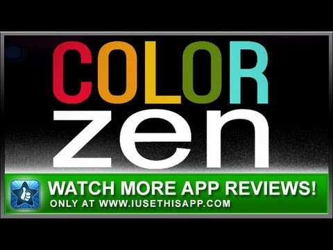 Color Zen App Review - Color Matching Apps - iPhone and Android Game