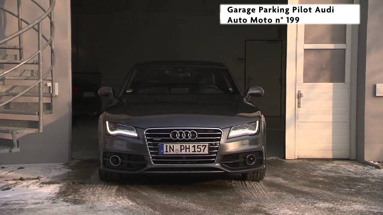 Audi garage pilot youtube for Garage audi meaux