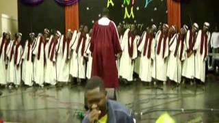 christ the solid rock hbac mass choir sav la mar jamaica a valtech media prodution
