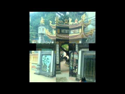 Đắp vẽ đình chùa hoa văn kim cổ