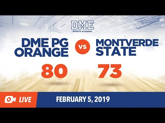 Montverde State vs. PG Orange