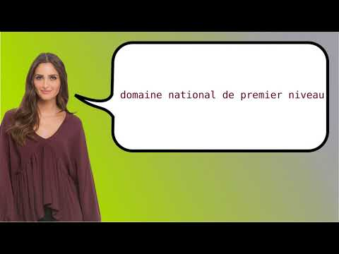 How to say 'country code top-level domain' in French?