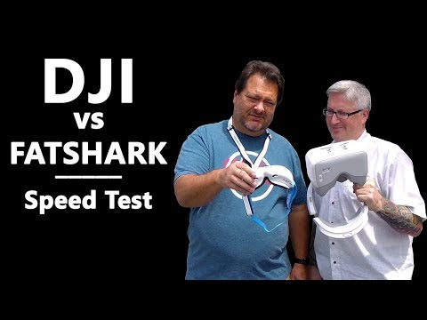 KEN HERON - Fatshark VS DJI Goggles (How to use with Phantom)