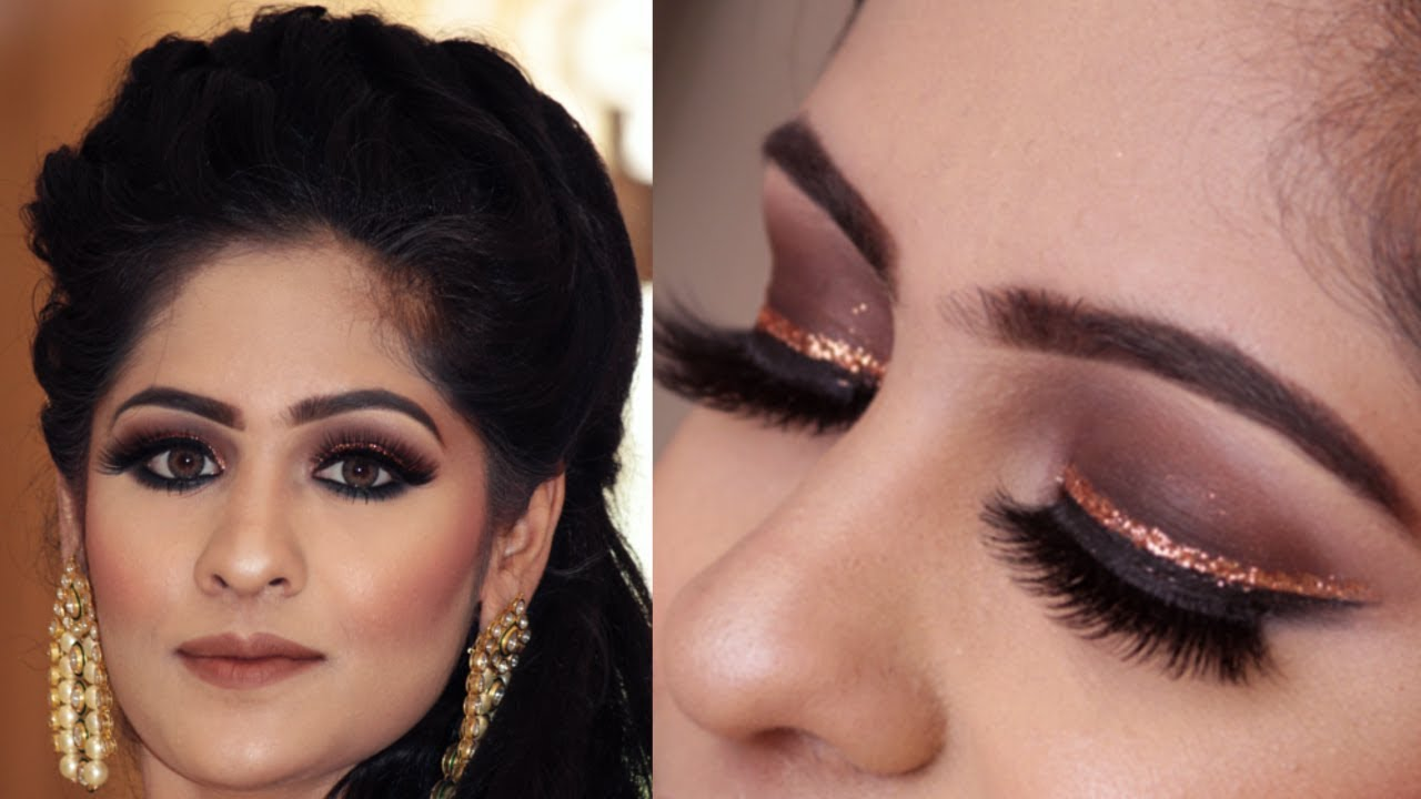 Indian Wedding Makeup Engagement Look 2018