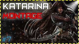 Katarina Montage #7 - Best Katarina Plays - League of Legends