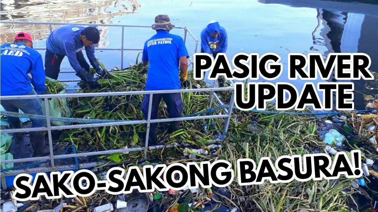 SAKO-SAKONG BASURA NAKUHA SA CLEAN-UP OPERATION SA MAY