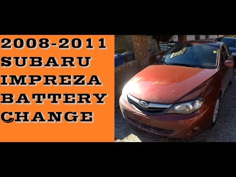 How to replace Battery in Subaru Impreza