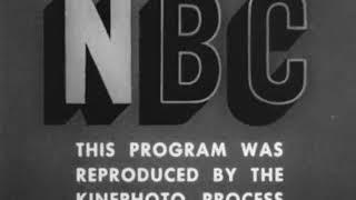 NBC Television Network logo (1952)
