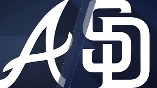 Braves' bats erupt in 14-1 rout over Padres: 6/5/18