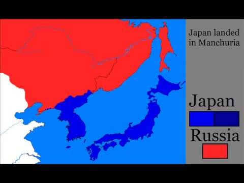 Russo Japanese war (1904-1905)