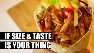 You've never seen a Kebab like this!
