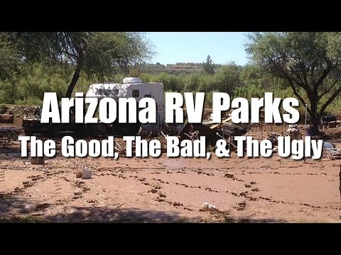 Full Time RV Living | Arizona RV Park Shopping