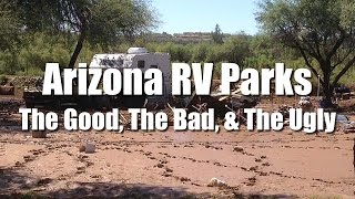 Full Time RV Living | Arizona RV Park Shopping