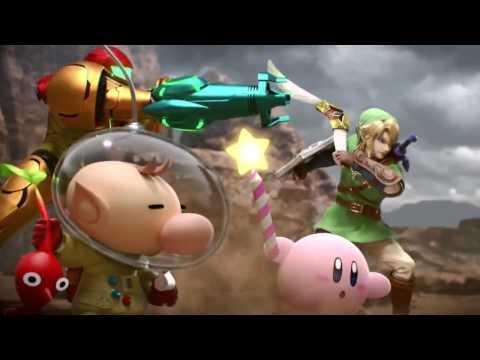 Super Smash Bros. 4 Charizard and Greninja Trailer