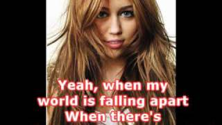 When I Look At You (Karaoke/Instrumental) - Miley Cyrus