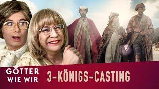 Wie die heiligen 3 Könige gecastet wurden
