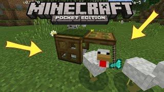 Minecraft PE - Как сделать Рабочую Ловушку Для Животных