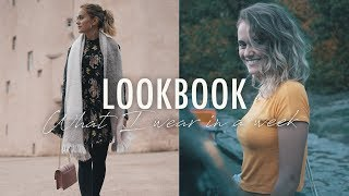 LOOKBOOK: 5 Tage - 5 Outfits •  WHAT I WEAR IN A WEEK • SNUKIEFUL