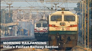 Shatabdi+Gatimaan+Rajdhani!14 in 1 Fast Trains in Delhi-Agra Section! Indian Railways