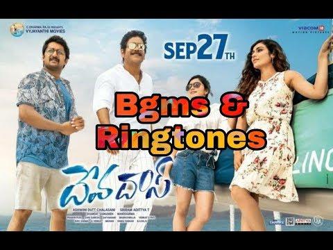 Devadas movie all bgm and ringtoness  || nani || Nagarjuna || Sriram Aditya. thumbnail