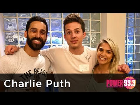 Carla Marie and Anthony interview Charlie Puth