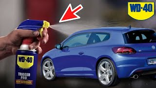 18 Tricks with WD 40 for good car maintenance