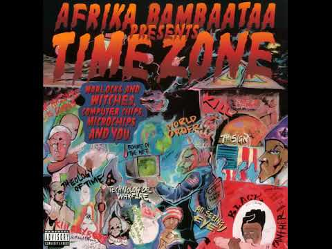 Afrika Bambaataa Presents Time Zone - Warlocks And Witches (1996 / Hip Hop, Go-Go,  Concious)