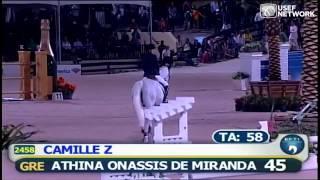 Athina Onassis de Miranda & Camille Z in the #FTIWEF Finale Grand Prix