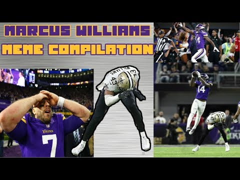 Marcus Williams Missed Stefon Diggs Tackle Meme Compilation