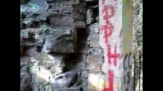 exploring abandoned house