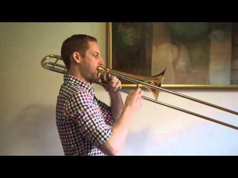 A Major Scale  - Trombone